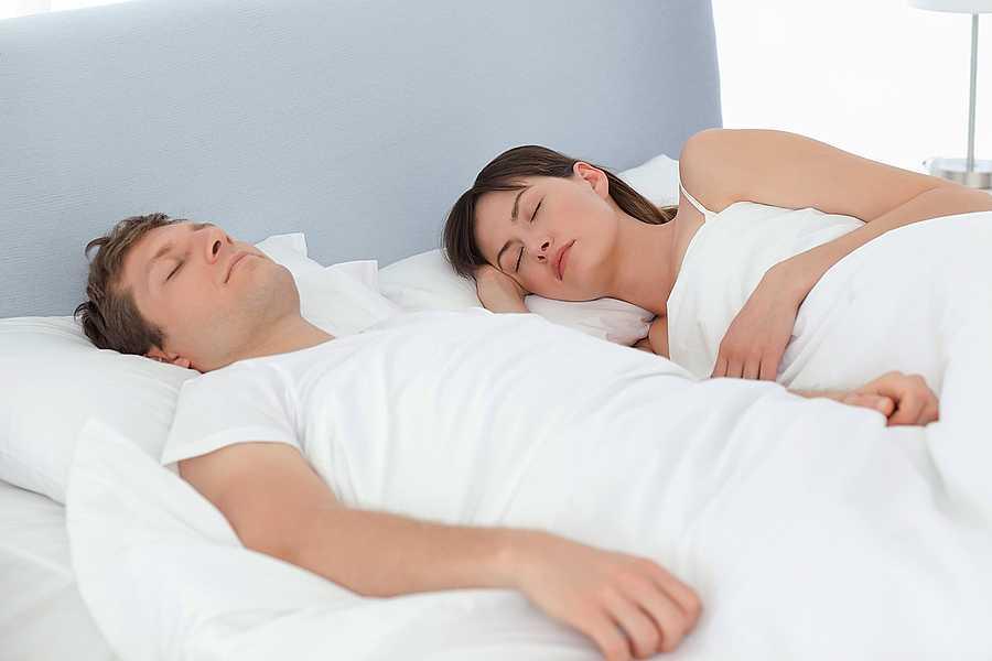 sleeping apart