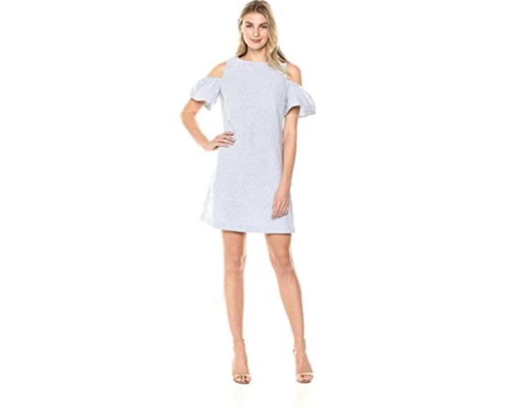 lark and ro cold shoulder dress perimenopause what to wear first for women