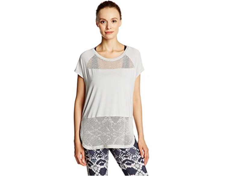 mesh workout top Perimenopause what to wear