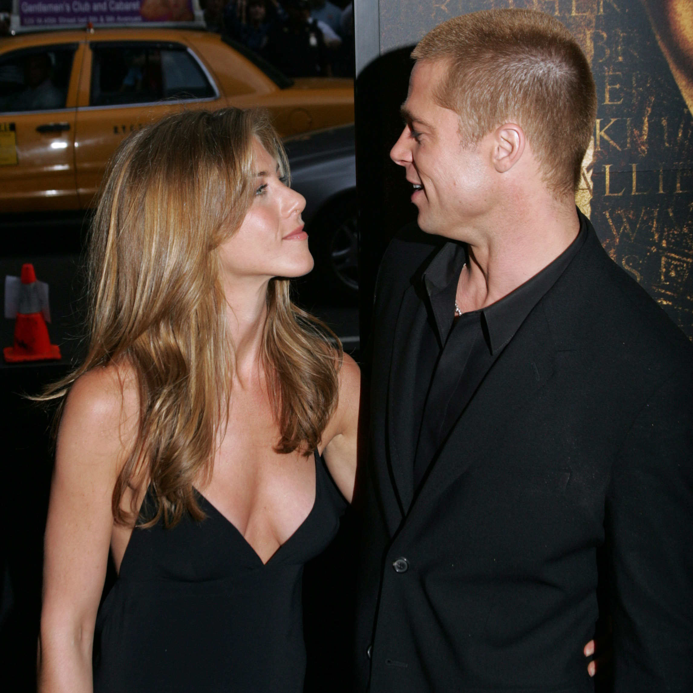 Brad Pitt Jennifer Aniston Getty Images