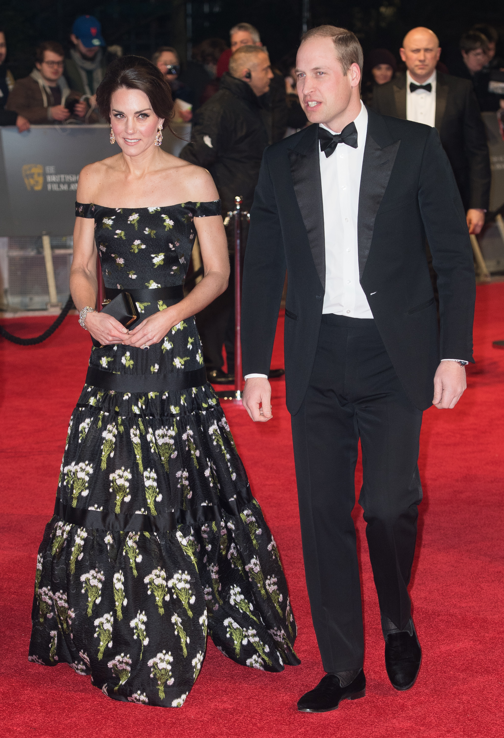 Kate Middleton BAFTAs 2017 Dress