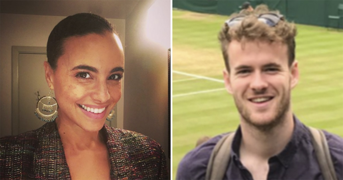 Actors playing Prince Harry and Meghan Markle (Instagram, Twitter)