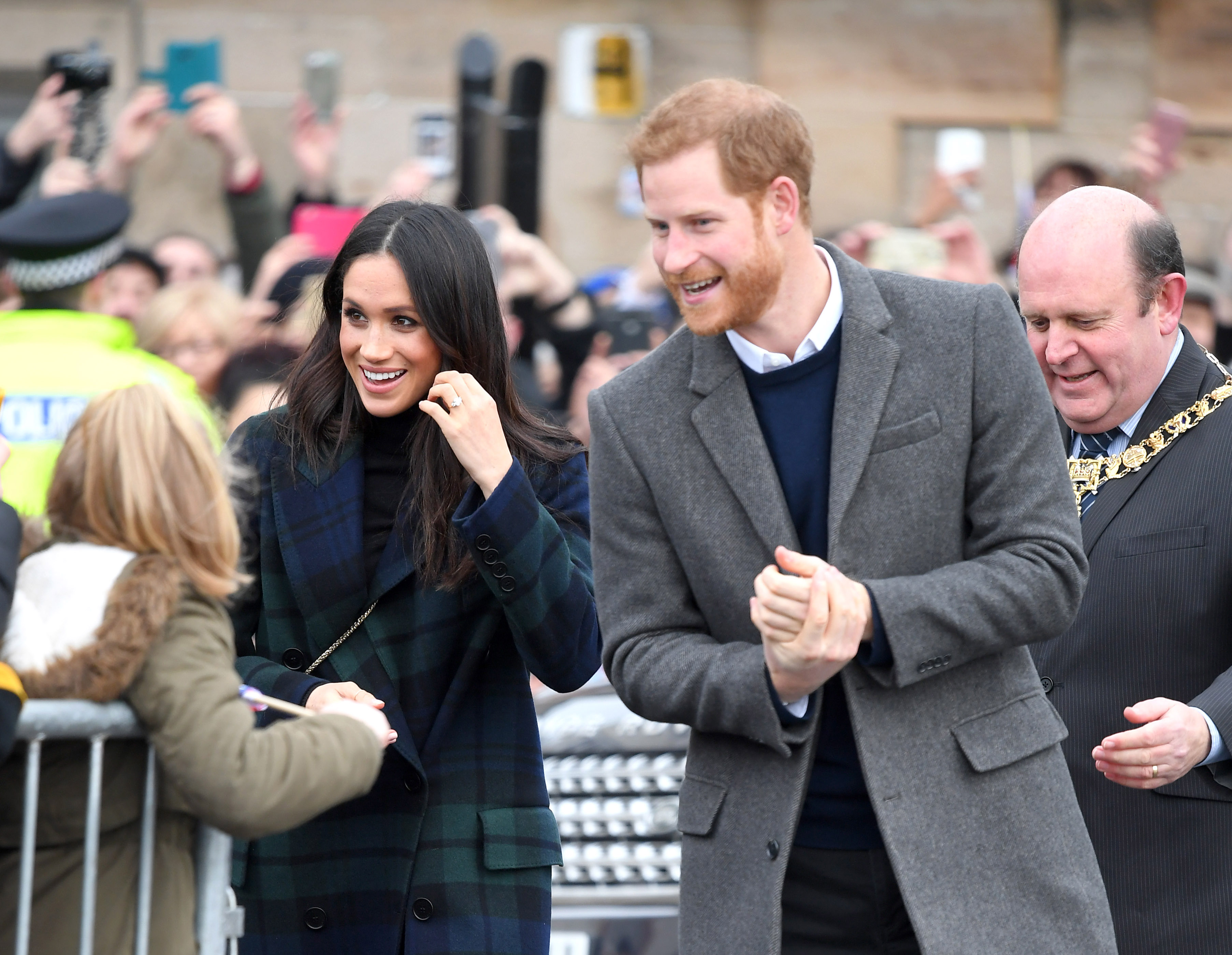 Prince Harry & Meghan Markle Getty Images