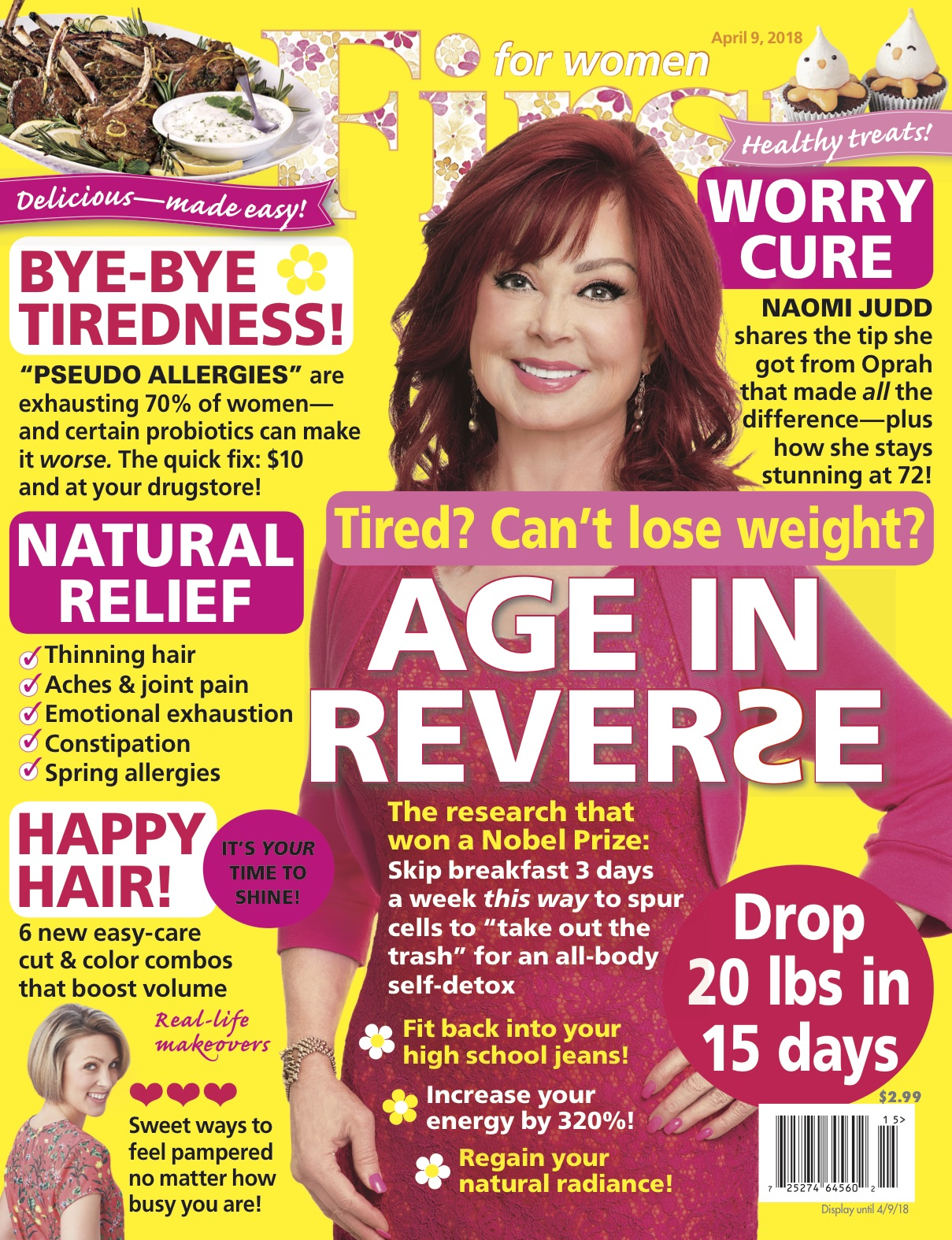 Naomi Judd March Cover