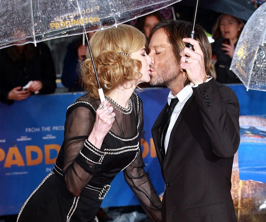keith urban nicole kidman kissing