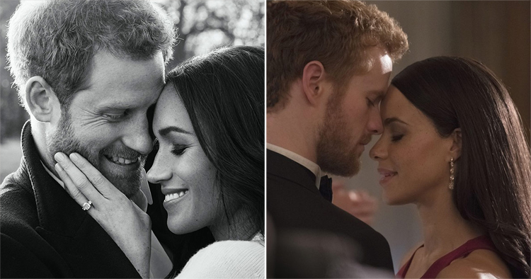 Meghan & Harry, Parisa Fitz-Henley & Murray Fraser