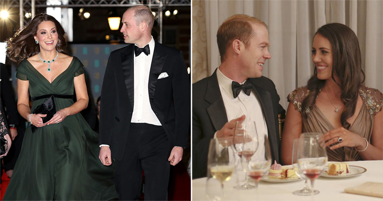 The Duke and Duchess of Cambridge vs. their Lifetime actors, Burgess Abernethy & Laura Mitchell