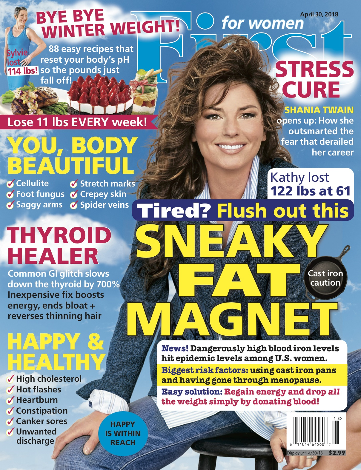 FFW Cover Image Press Release Shania Twain
