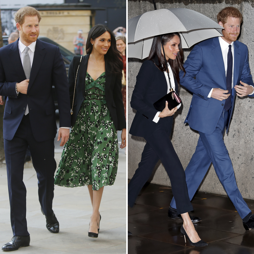 Meghan Markle Split Getty Images