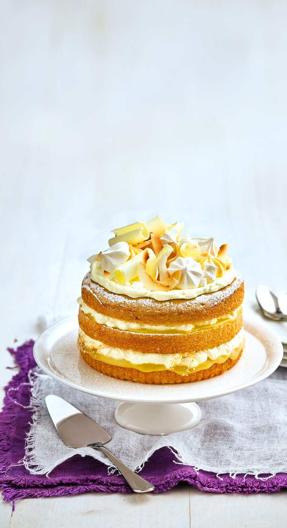 Elderflower Buttercream Cake NTL