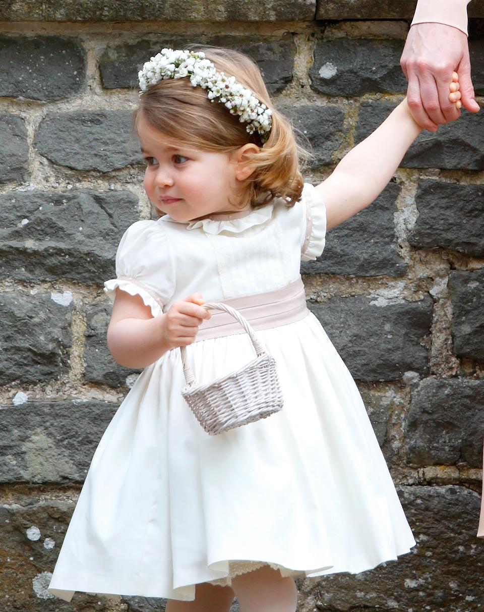 Pippa Middleton Wedding Princess Charlotte