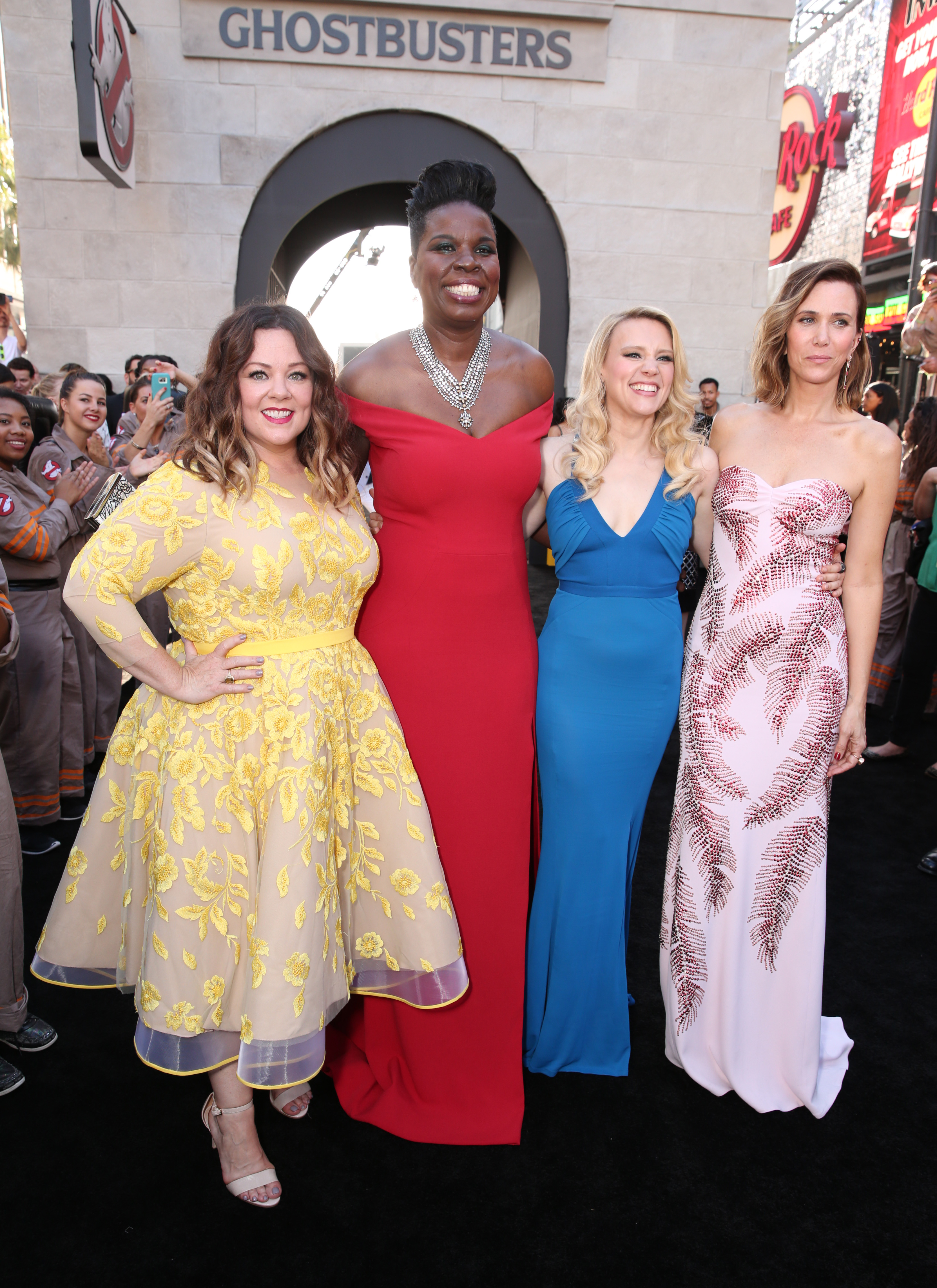 Ghostbusters reboot cast Getty Images