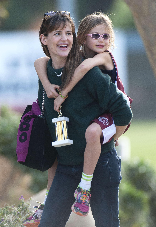 Violet Affleck Jennifer Garner Getty Images