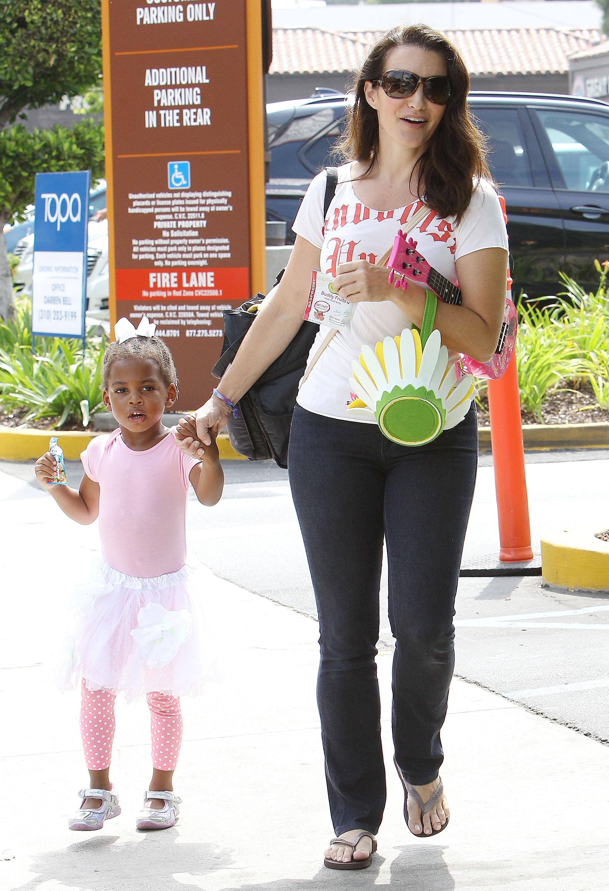 Kristin Davis Daughter Splash