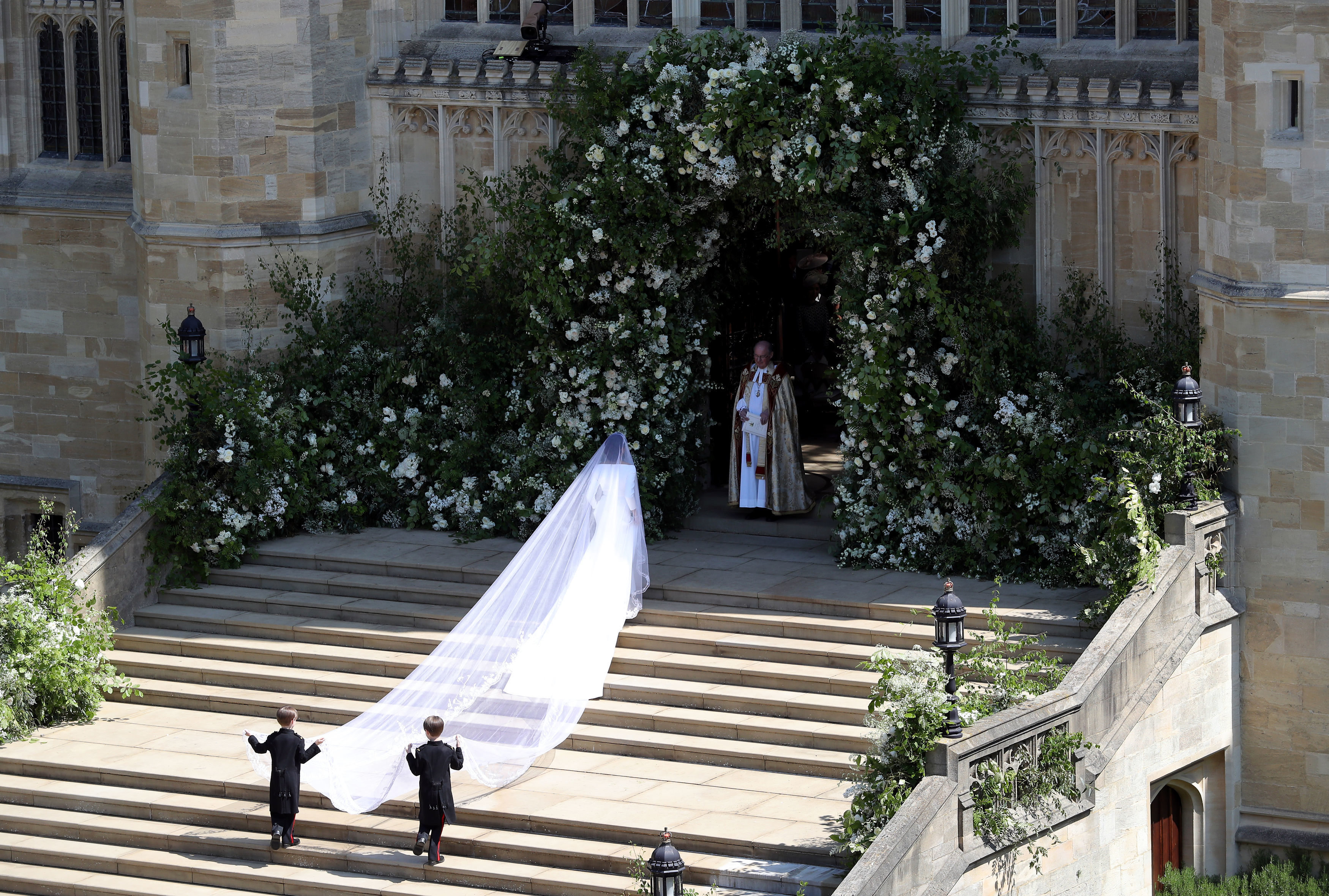 Meghan Markle Wedding Dress Veil