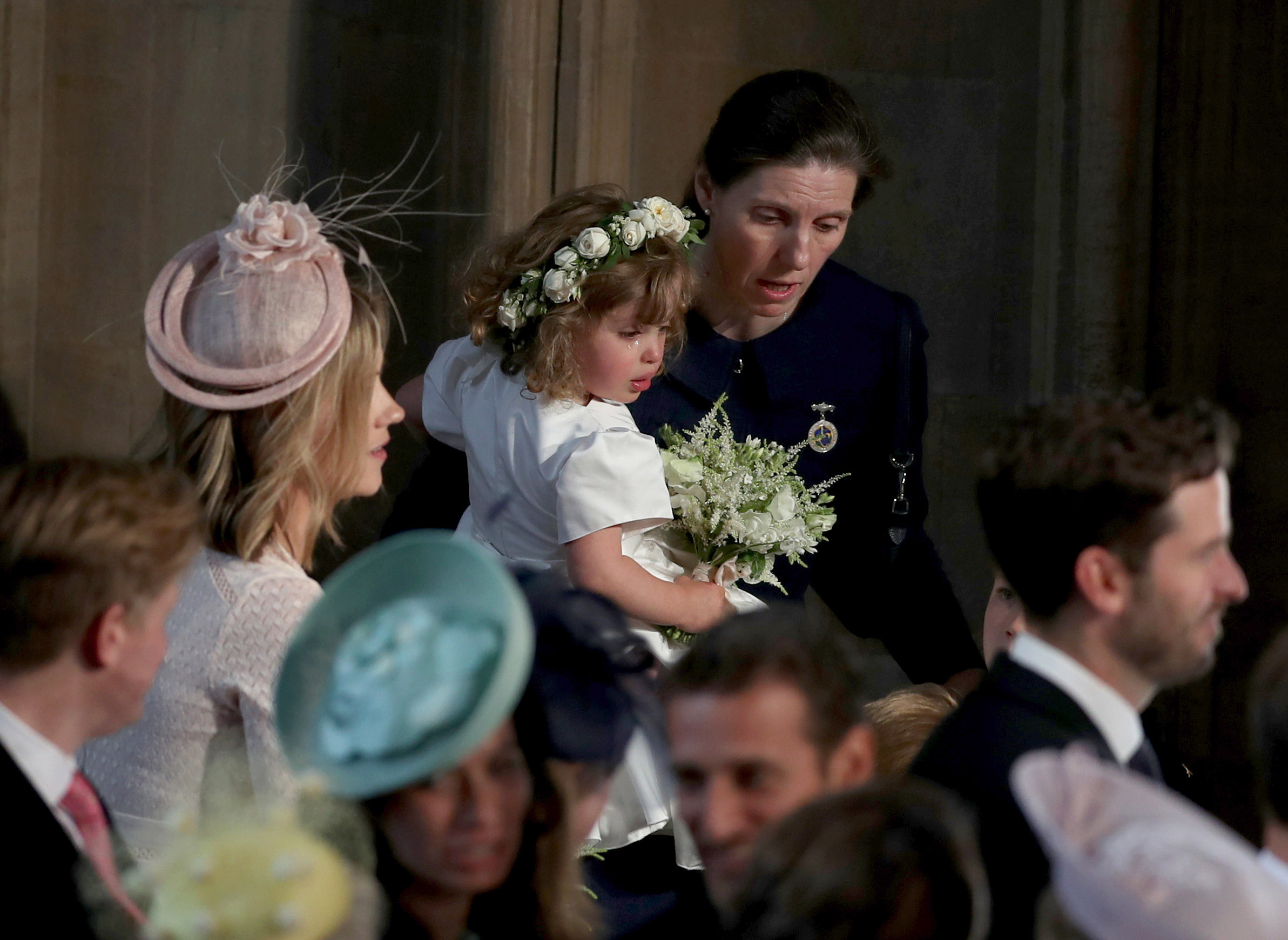 Nanny Borello Royal Wedding Getty Images