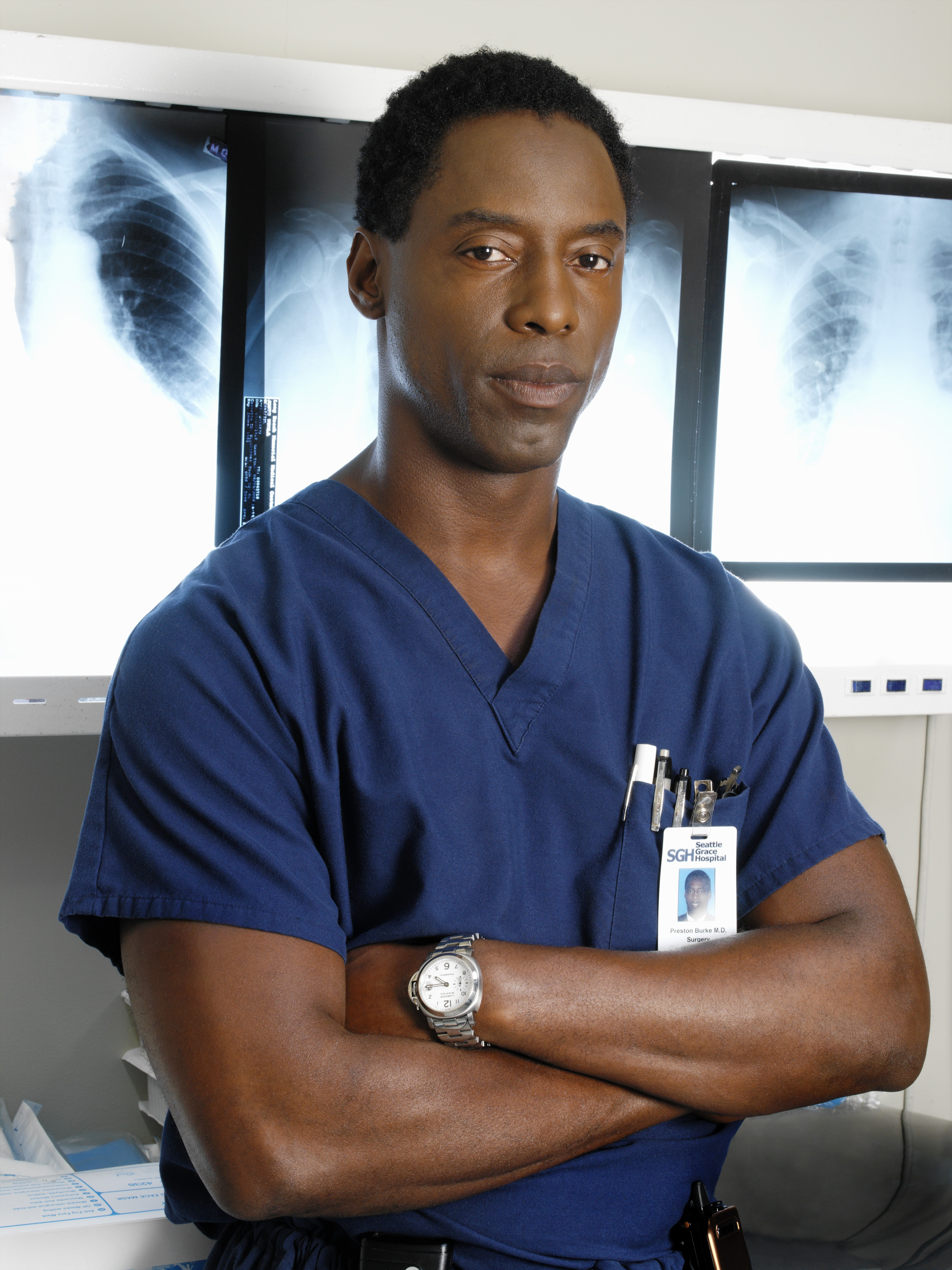 Preston Burke Grey's Anatomy Getty Images
