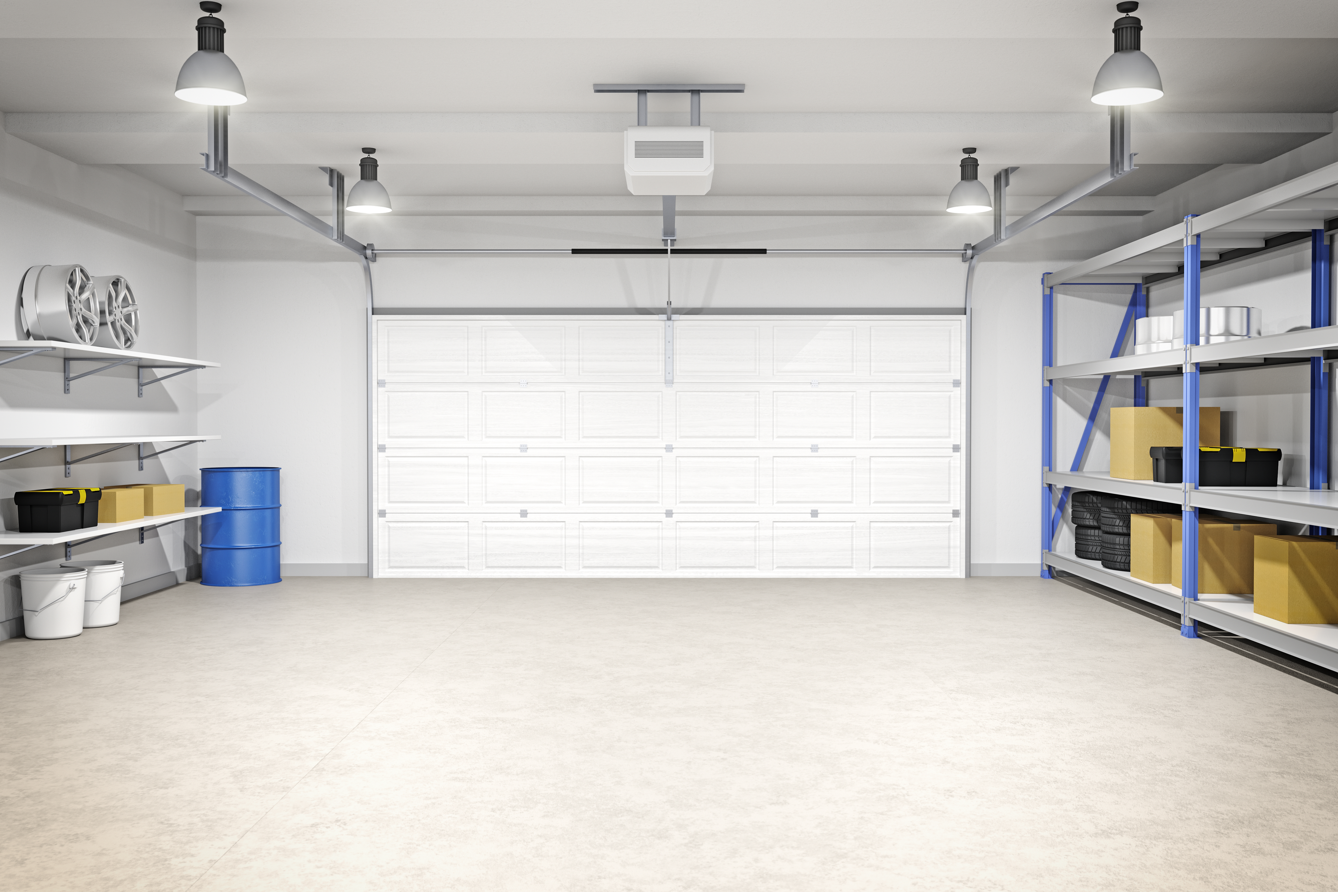 Clean Garage Getty Images