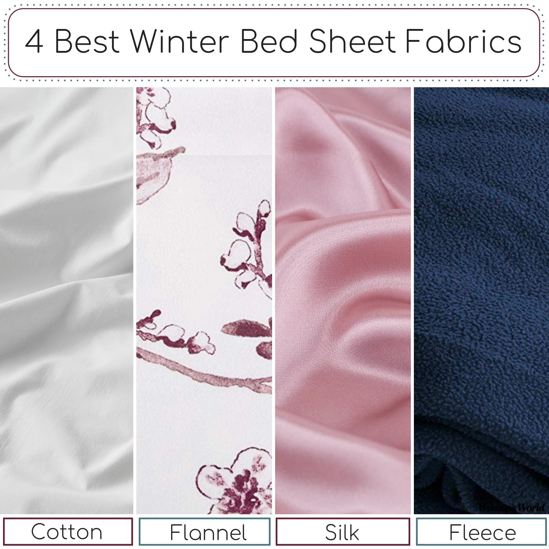 Best Winter Bed Sheet Fabrics