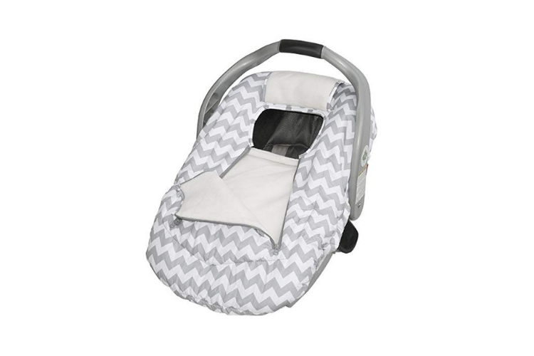 Jolly Jumper Arctic Sneak-A-Peek Infant CarSeat Cover