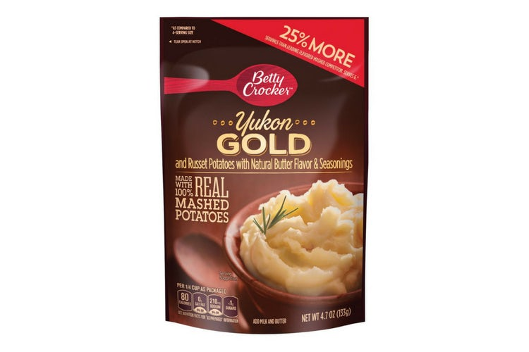 Betty Crocker instant mashed potatoes