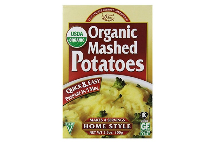 organic instant mashed potatoes