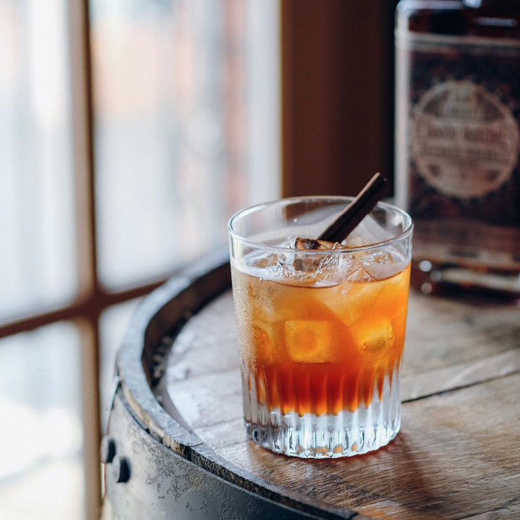 pumpkin cocktails bourbon
