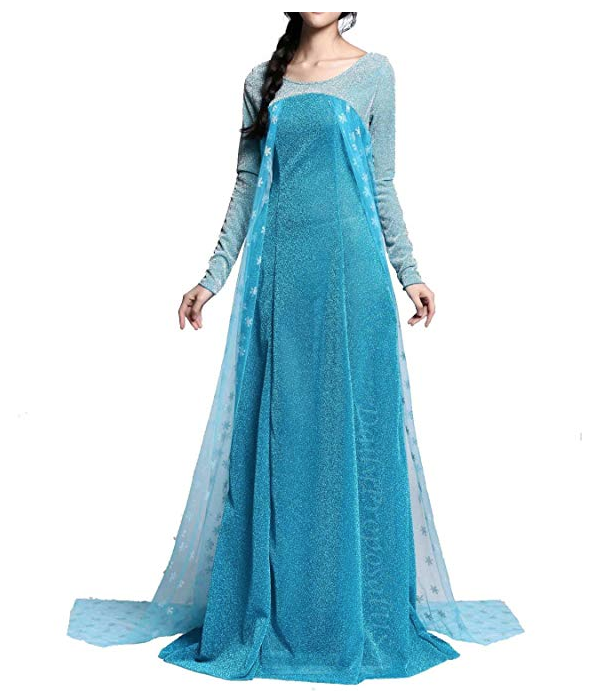 snowflake halloween costume elsa amazon