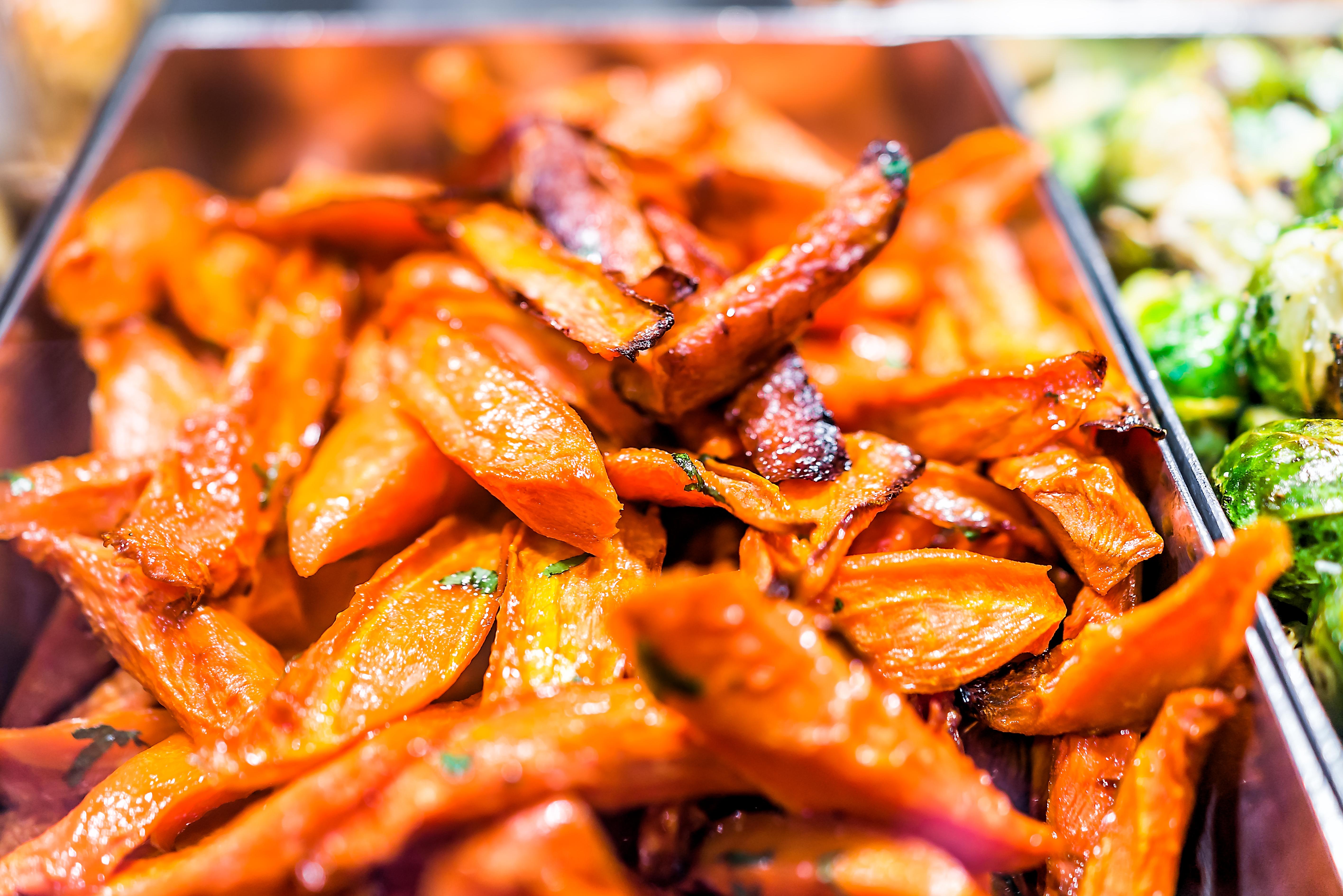 homemade carrot chips