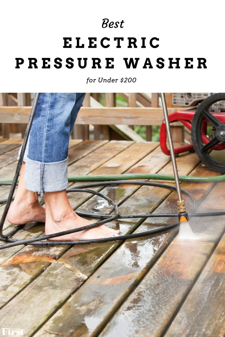 Best Pressure Washer Under 200