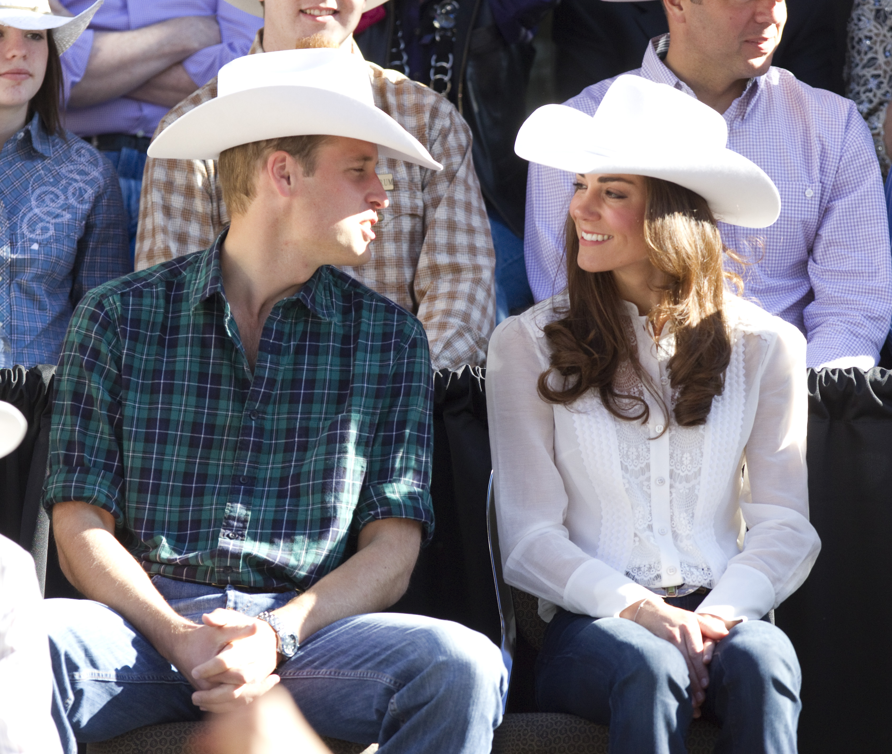Kate Middleton Prince William Hats Getty