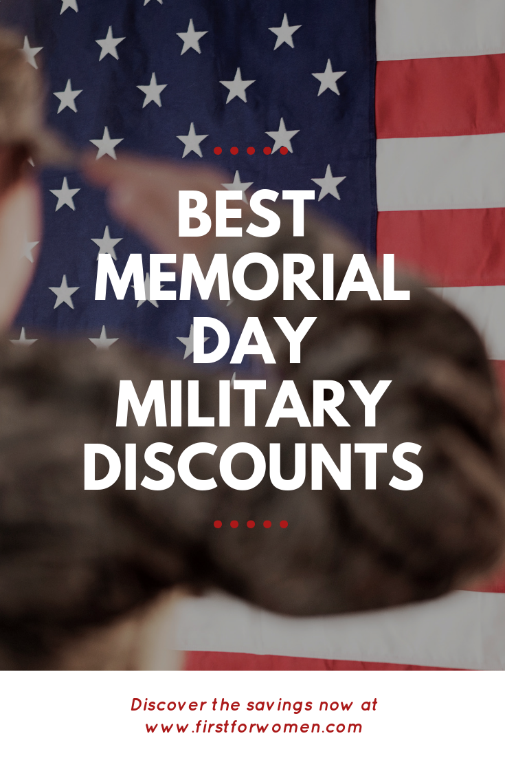 Memorial Day Military Discounts