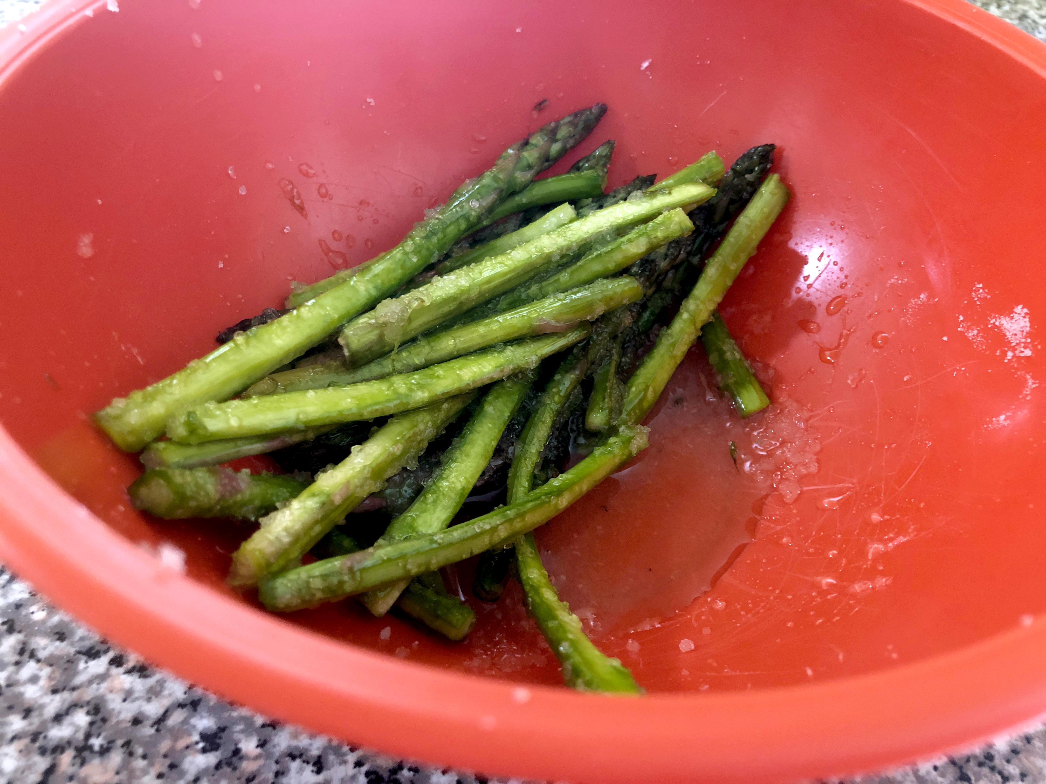 cured asparagus