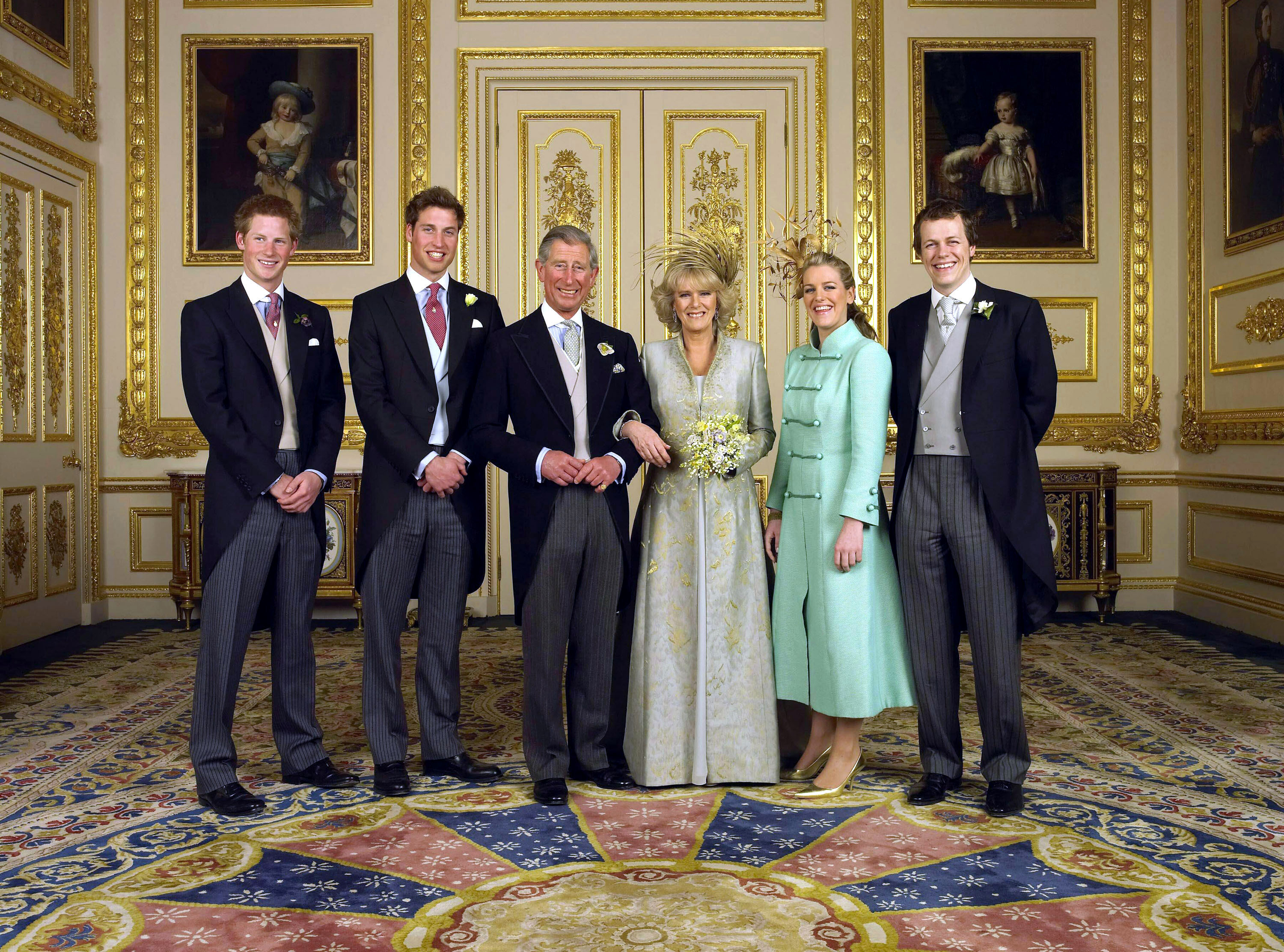 Charles and Camilla wedding