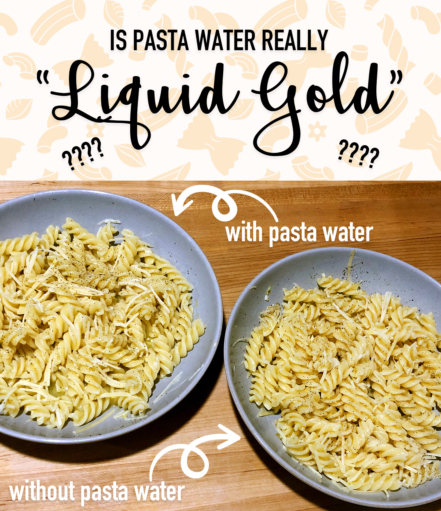 Why is pasta water