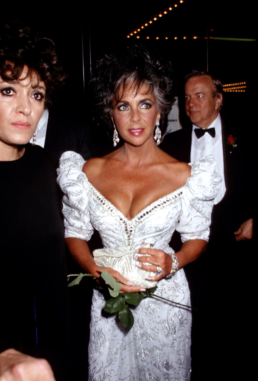 Elizabeth Taylor in 1987