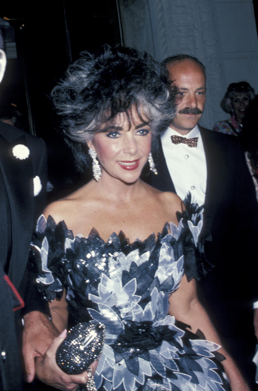 Elizabeth Taylor in 1986