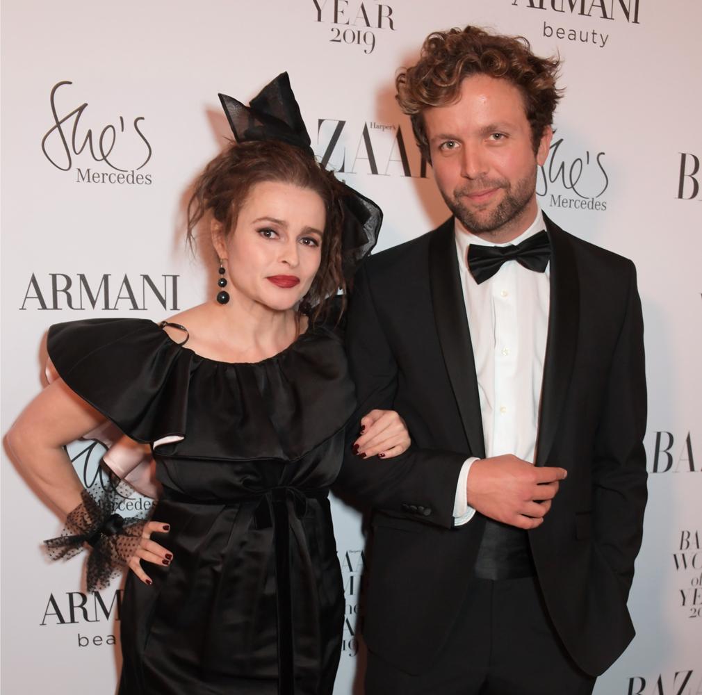 Helena Bonham Carter and boyfriend