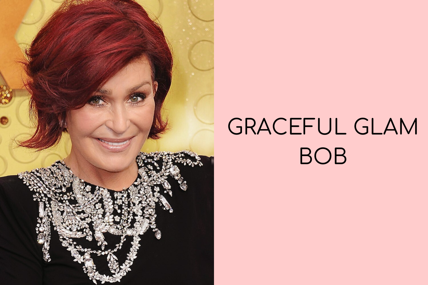 Graceful Glam Bob