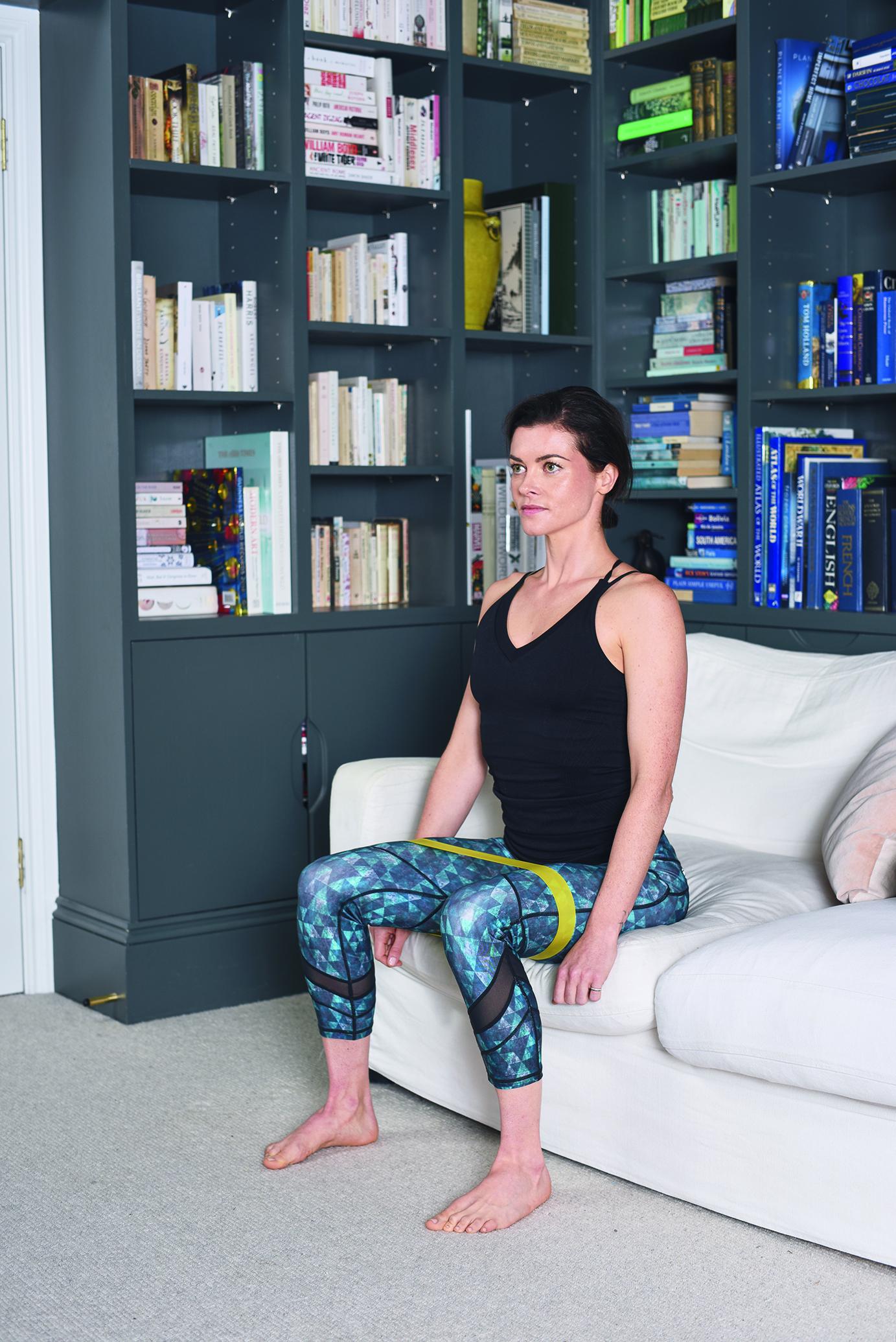 sofa squats