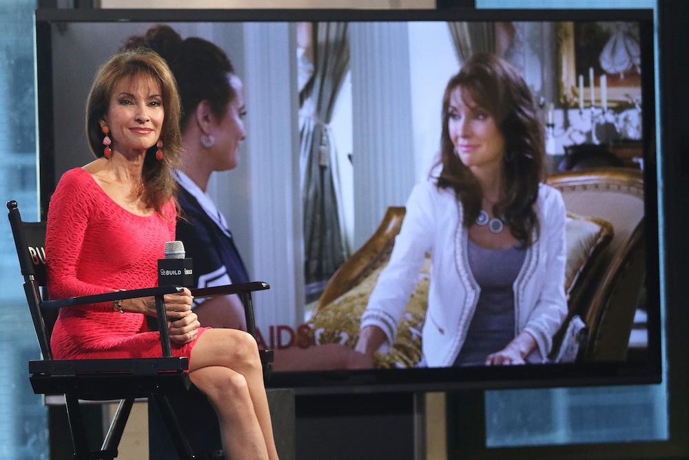 Susan Lucci AOL Build Interview FilmMagic