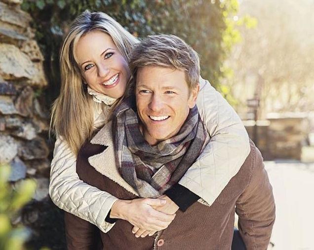 Y&R's Burgess Jenkins and Wife, Ashlee - Courtesy Burgess Jenkins