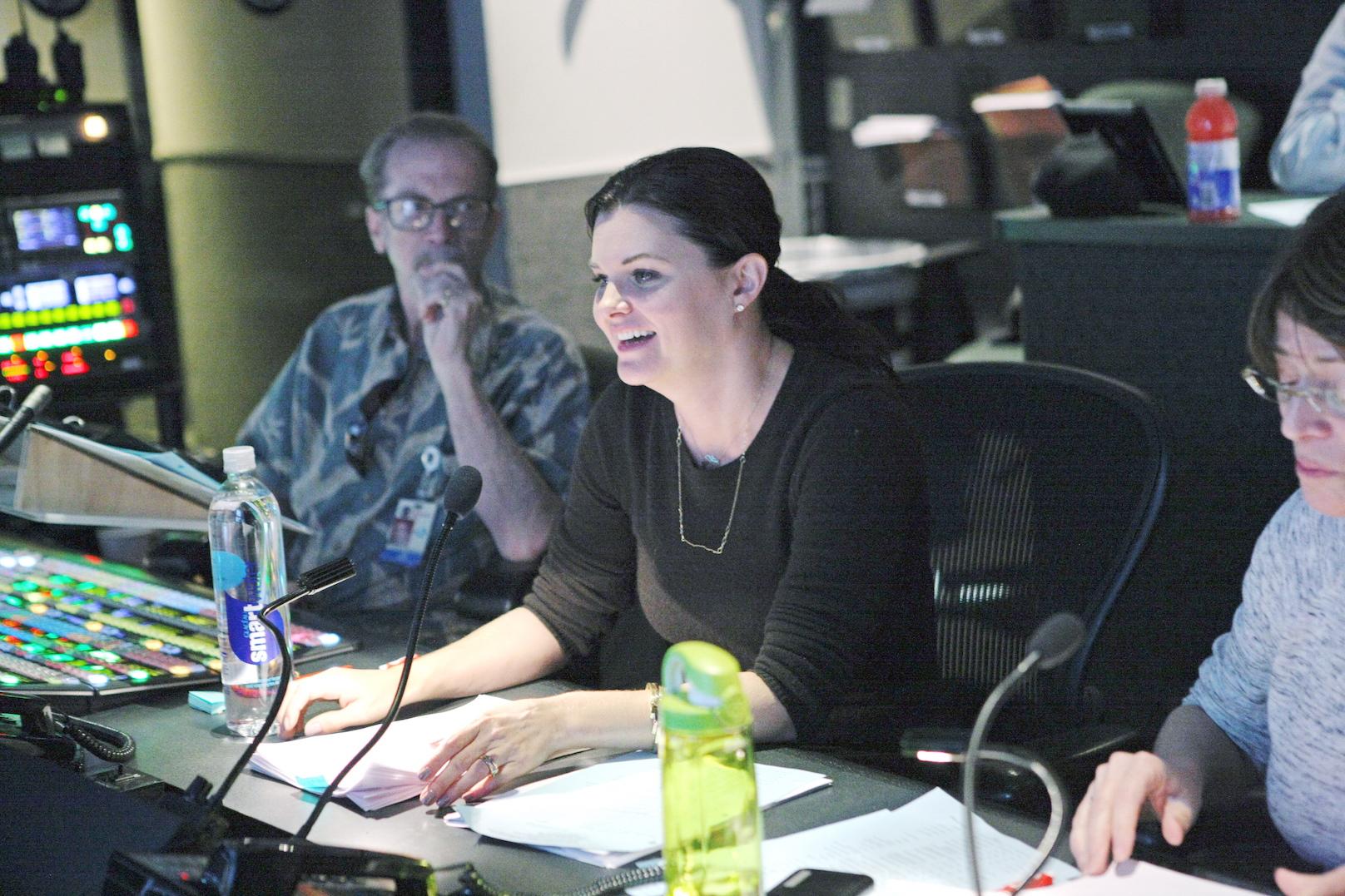 Heather Tom directing