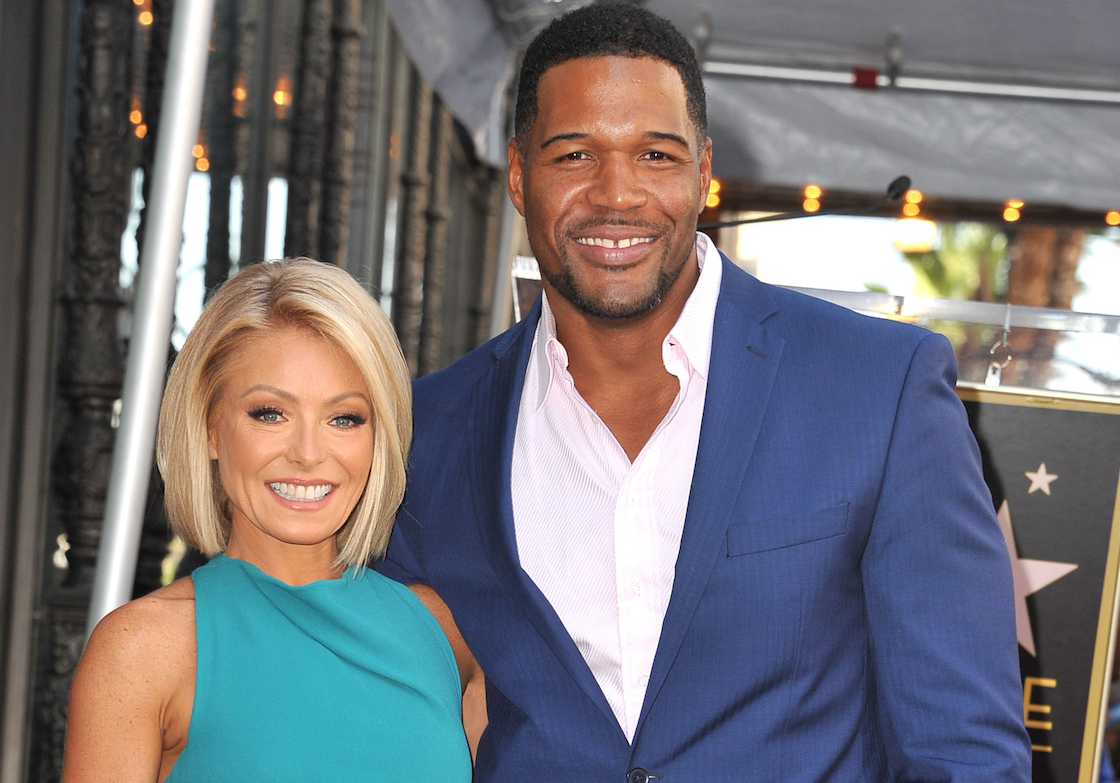 Kelly Ripa Michael Strahan Wireimage