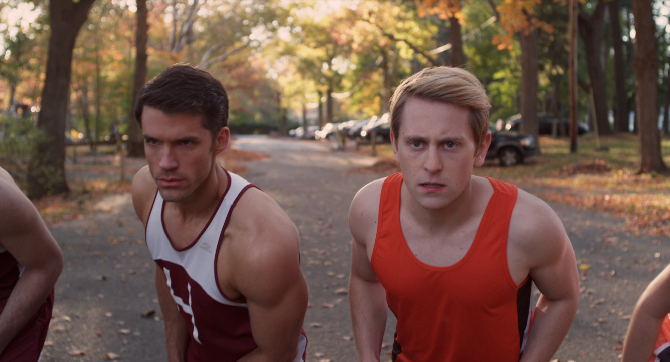 David A. Gregory and Eric Nelsen in Chasing Yesterday