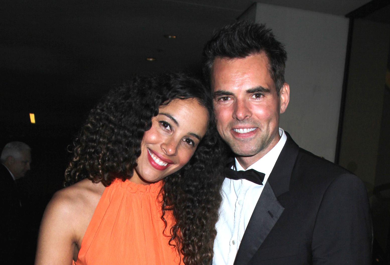 Y&R's Jason Thompson and wife Paloma - Bergman