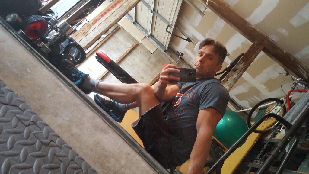 William deVry Workout Twitter