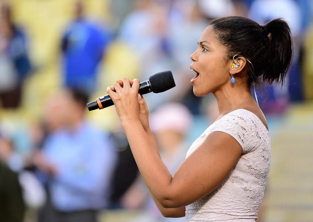 B&B Karla Mosley Singing - Getty