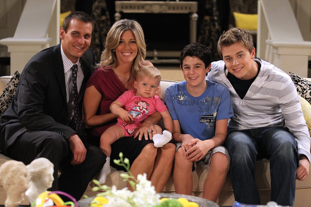 GH Jax and Carly Family ABC/Getty