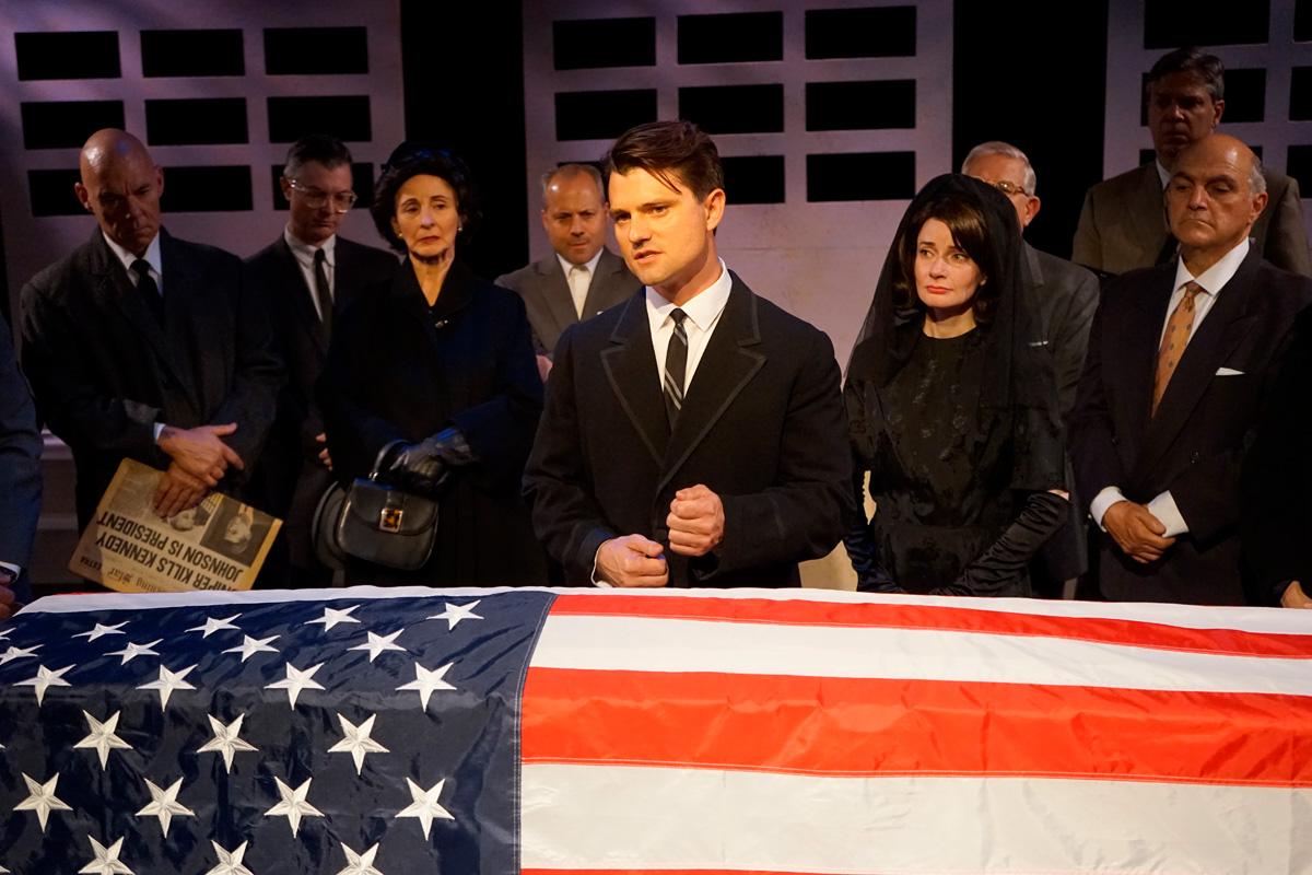 Chad Brannon in JFK Play - Rick Baumgartner
